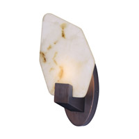 Maxim 30143BZGTGLD Boulder LED 8 inch Bronze Gilt and Gold ADA Wall Sconce Wall Light