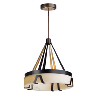 Maxim 30146BZGTGLD Boulder 1 Light 24 inch Bronze Gilt and Gold Single Pendant Ceiling Light