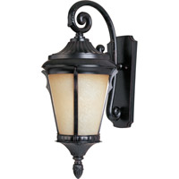 Odessa 1 Light 22 inch Espresso Outdoor Wall Mount
