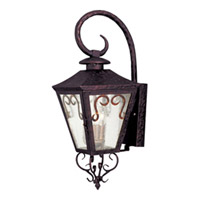 Maxim Lighting Cordoba 3 Light Outdoor Wall Mount in Oil Rubbed Bronze 30154CDOI