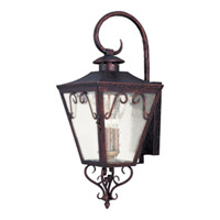 Maxim Lighting Cordoba 3 Light Outdoor Wall Mount in Oil Rubbed Bronze 30155CDOI