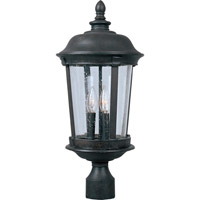 Maxim Lighting Dover DC 3 Light Outdoor Pole/Post Lantern in Bronze 3021CDBZ
