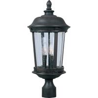 Maxim Lighting Dover DC 3 Light Outdoor Pole/Post Lantern in Bronze 3022CDBZ photo thumbnail