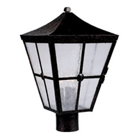 Maxim Lighting Castille 3 Light Outdoor Pole/Post Lantern in Country Forge 30230CDCF