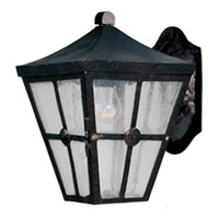 Maxim Lighting Castille 1 Light Outdoor Wall Mount in Country Forge 30231CDCF