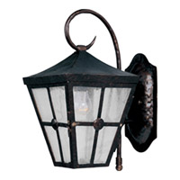 Maxim Lighting Castille 1 Light Outdoor Wall Mount in Country Forge 30232CDCF