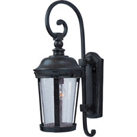 Maxim Lighting Dover DC 1 Light Outdoor Wall Mount in Bronze 3023CDBZ