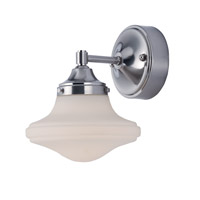 Maxim 30242SWSN New School LED 8 inch Satin Nickel Wall Sconce Wall Light