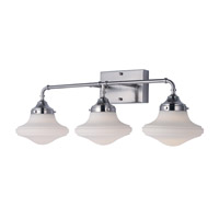 New School LED 28 inch Satin Nickel Vanity Light Wall Light