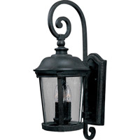 Dover DC 3 Light 25 inch Bronze Outdoor Wall Mount