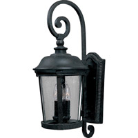 Maxim Lighting Dover DC 3 Light Outdoor Wall Mount in Bronze 3025CDBZ