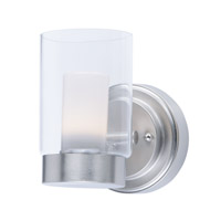 Mod LED 5 inch Satin Nickel Wall Sconce Wall Light
