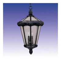 Maxim Lighting Essex 3 Light Outdoor Hanging Lantern in Oriental Bronze 30262CDOB