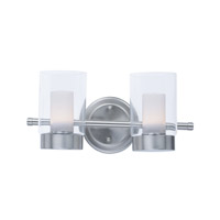 Mod LED 14 inch Satin Nickel Vanity Light Wall Light