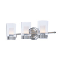 Maxim 30263CLFTSN Mod LED 22 inch Satin Nickel Vanity Light Wall Light