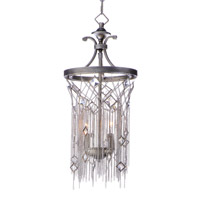 Maxim 30273SM Alessandra 2 Light 10 inch Silver Mist Single Pendant Ceiling Light