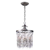 Maxim 30274SM Alessandra 4 Light 16 inch Silver Mist Chandelier Ceiling Light
