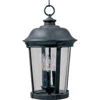 Maxim 3029CDBZ Dover DC 3 Light 12 inch Bronze Outdoor Hanging Lantern