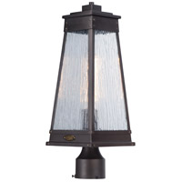 Schooner 1 Light 19 inch Olde Brass Outdoor Post Mount
