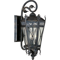 Canterbury 3 Light 23 inch Artesian Bronze Outdoor Wall Mount