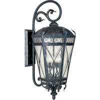 Maxim 30456CDAT Canterbury 3 Light 28 inch Artesian Bronze Outdoor Wall Mount