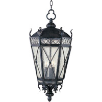 Maxim Lighting Canterbury 3 Light Outdoor Hanging Lantern in Artesian Bronze 30459CDAT