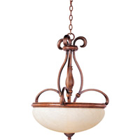 Maxim Lighting Hyde Park 3 Light Pendant in Wormwood 30473FLWW