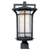 Maxim Lighting Oakville 1 Light Outdoor Pole/Post Mount in Black Oxide 30480WGBO