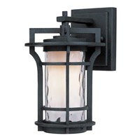 Maxim Lighting Oakville 1 Light Outdoor Wall Mount in Black Oxide 30482WGBO