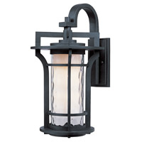 Maxim Lighting Oakville 1 Light Outdoor Wall Mount in Black Oxide 30484WGBO