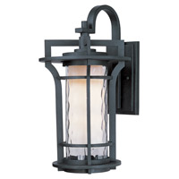 Maxim Lighting Oakville 1 Light Outdoor Wall Mount in Black Oxide 30485WGBO