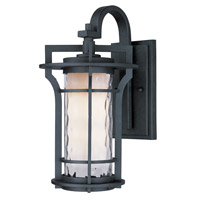 Maxim Lighting Oakville 1 Light Outdoor Wall Mount in Black Oxide 30486WGBO