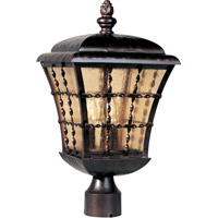 Maxim 30490ASOI Orleans 3 Light 19 inch Oil Rubbed Bronze Outdoor Pole/Post Lantern