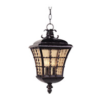 Maxim Lighting Orleans 3 Light Outdoor Hanging Lantern in Oil Rubbed Bronze 30498ASOI