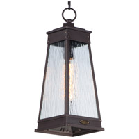 Maxim 3049RPOLB Schooner 1 Light 7 inch Olde Brass Outdoor Pendant