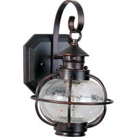 Maxim Lighting Portsmouth 1 Light Outdoor Wall Mount in Oil Rubbed Bronze 30502CDOI