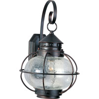 Maxim 30503CDOI Portsmouth 1 Light 19 inch Oil Rubbed Bronze Outdoor Wall Mount