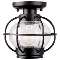 Maxim Lighting Portsmouth 1 Light Outdoor Ceiling Mount in Oil Rubbed Bronze 30508CDOI photo thumbnail