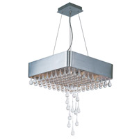 Maxim Lighting Drops 9 Light Pendant in Brushed Aluminum 30724CLAL