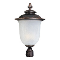 Maxim Lighting Cambria DC 2 Light Outdoor Pole/Post Lantern in Chocolate 3090FCCH