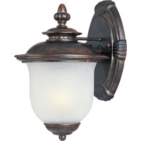 Maxim Lighting Cambria DC 1 Light Outdoor Wall Mount in Chocolate 3093FCCH