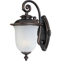 Maxim Lighting Cambria DC 2 Light Outdoor Wall Mount in Chocolate 3094FCCH
