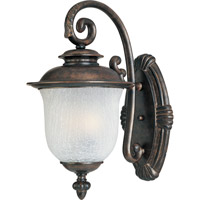 Cambria DC 3 Light 23 inch Chocolate Outdoor Wall Mount