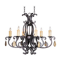 Maxim Lighting Richmond 6 Light Mini Chandelier in Colonial Umber 31009CU