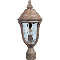 Whittier DC 1 Light 17 inch Earth Tone Outdoor Pole/Post Lantern