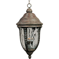 Whittier DC 3 Light 12 inch Earth Tone Outdoor Hanging Lantern