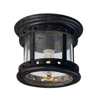 Maxim Lighting Santa Barbara DC 1 Light Outdoor Ceiling Mount in Sienna 3130CDSE photo thumbnail