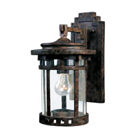 Santa Barbara DC 1 Light 10 inch Sienna Outdoor Wall Mount