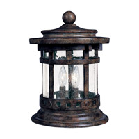 Maxim Lighting Santa Barbara DC 3 Light Outdoor Deck Lantern in Sienna 3132CDSE