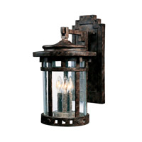 Santa Barbara DC 3 Light 20 inch Sienna Outdoor Wall Mount